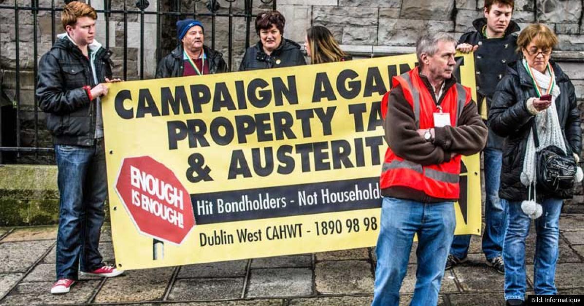 Hundratusentals utan el i irland