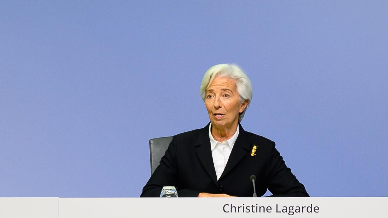 Europeiska centralbankens chef Christine Lagarde.