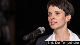 Frauke Petry, nu ledare för Alternative für Deutschland. Arkivbild.